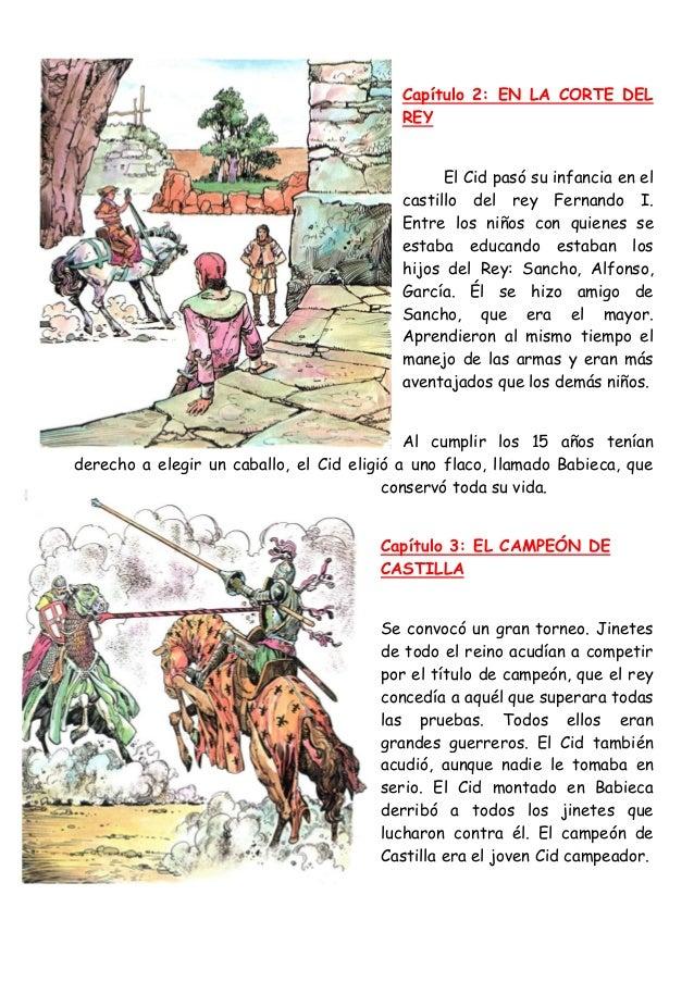 El cid c mic historia for La leyenda del cid