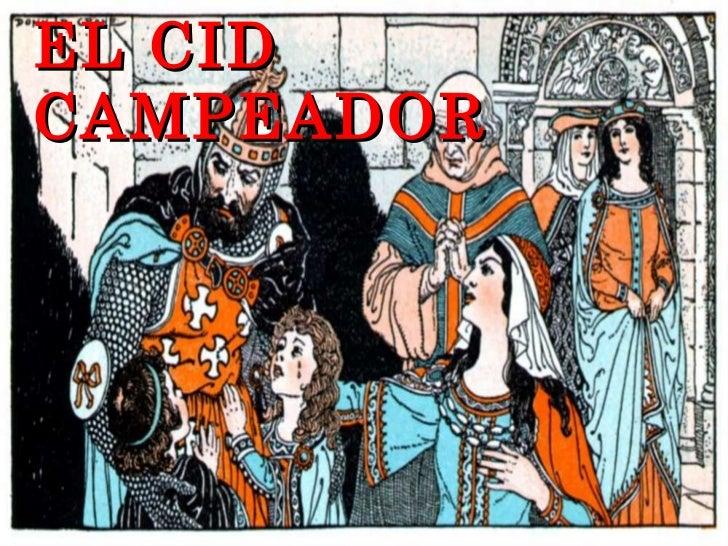 El cid english