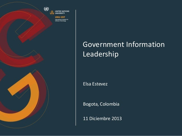 El cio del sector público   una oportunidad para la transformación y el liderazgo