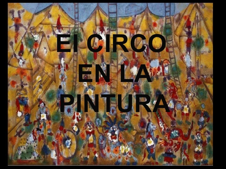 El CIRCO  EN LA PINTURA