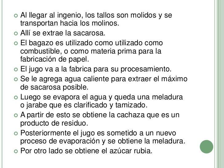 Circuito Productivo De La Caña De Azucar : Circuito productivo de la caña azucar en jujuy