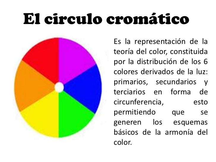 El circulo cromático          Es la representación de la          teoría del color, constituida          por la distribuci...