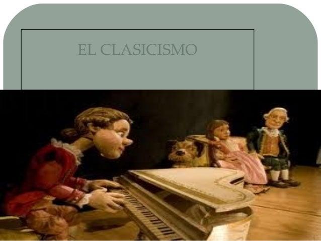 15/04/14 Haga clic para modificar el estilo de subtítulo del patrón EL CLASICISMO