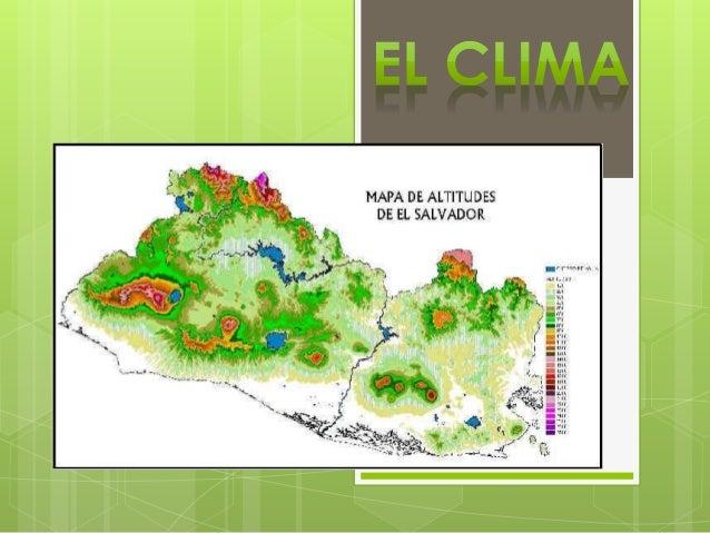 Ultimas lluvias de El Salvador