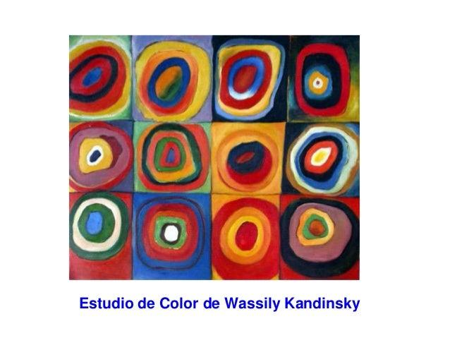 Estudio de Color de Wassily Kandinsky