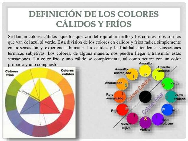 El color 02 - Los colores calidos y frios ...