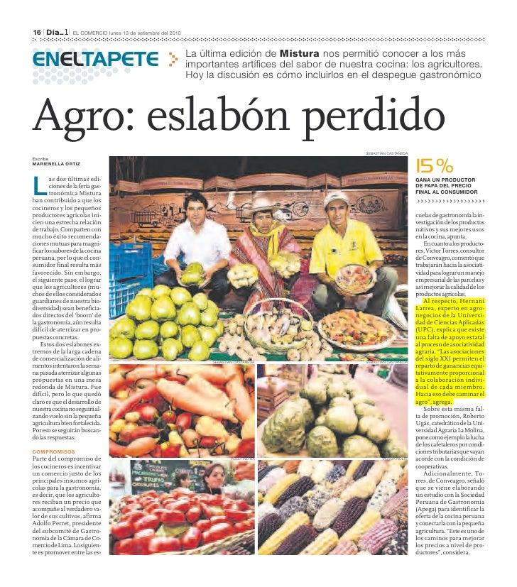 16   l          l   EL COMERCIO lunes 13 de setiembre del 2010                                                            ...
