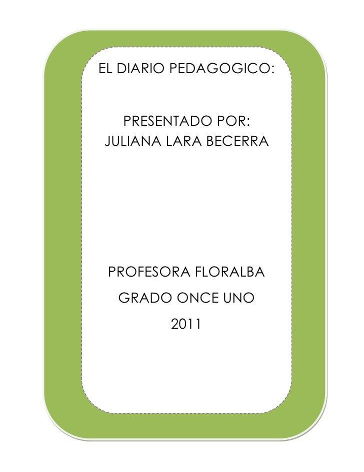 El concepto de Diario Pedagógico