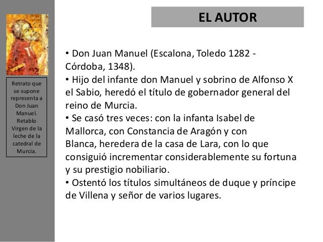El Conde Lucanor Cuento 5 Don Juan Manuel Upcomingcarshq Com