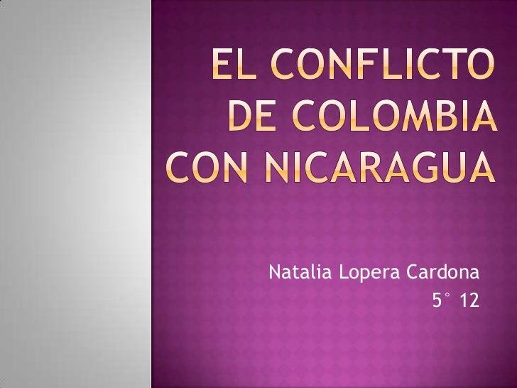 Natalia Lopera Cardona                 5° 12