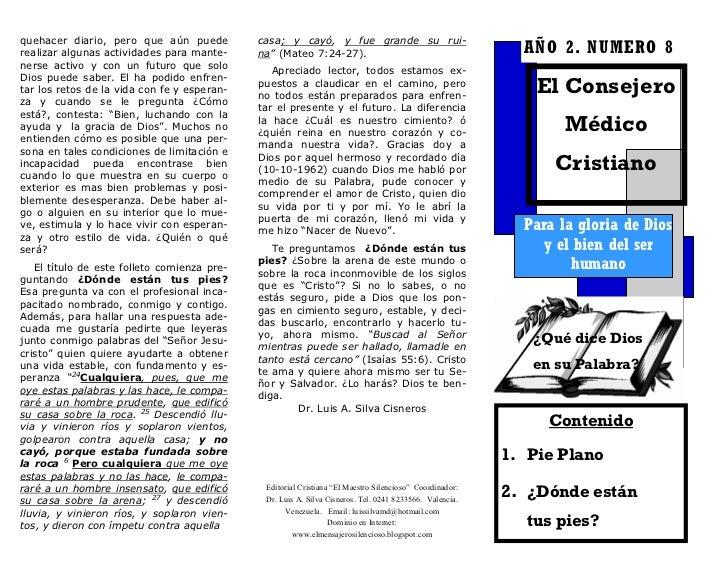EL CONSEJERO MEDICO CRISTIANO No. 8