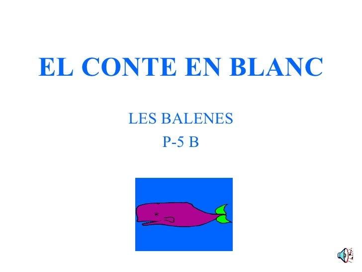 El Conte En Blanc