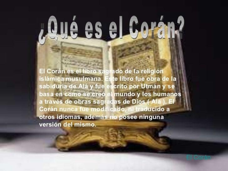 El coran - Que es el corian ...