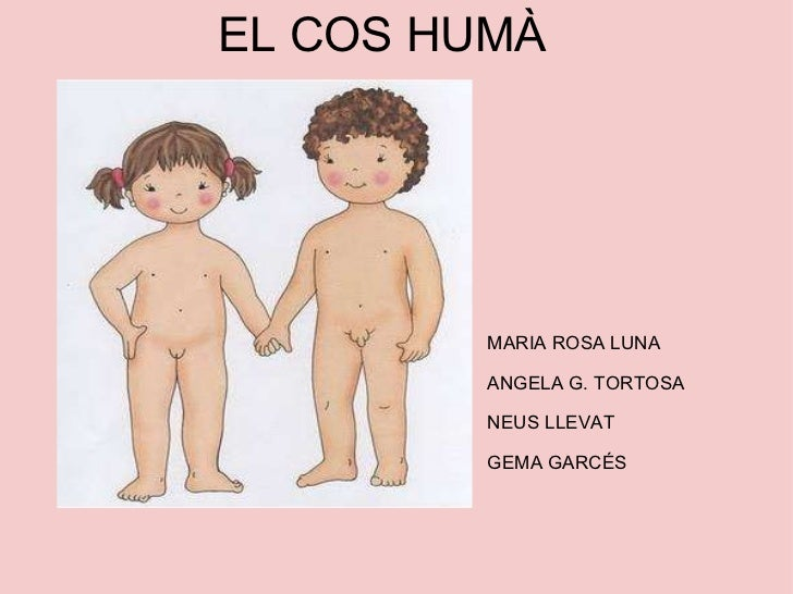 EL COS HUMÀ MARIA ROSA LUNA ANGELA G. TORTOSA NEUS LLEVAT GEMA GARCÉS
