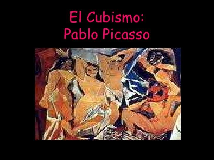 El Cubismo:Pablo Picasso