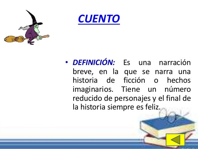 El cuento clases y sus partes for Origen y definicion de oficina