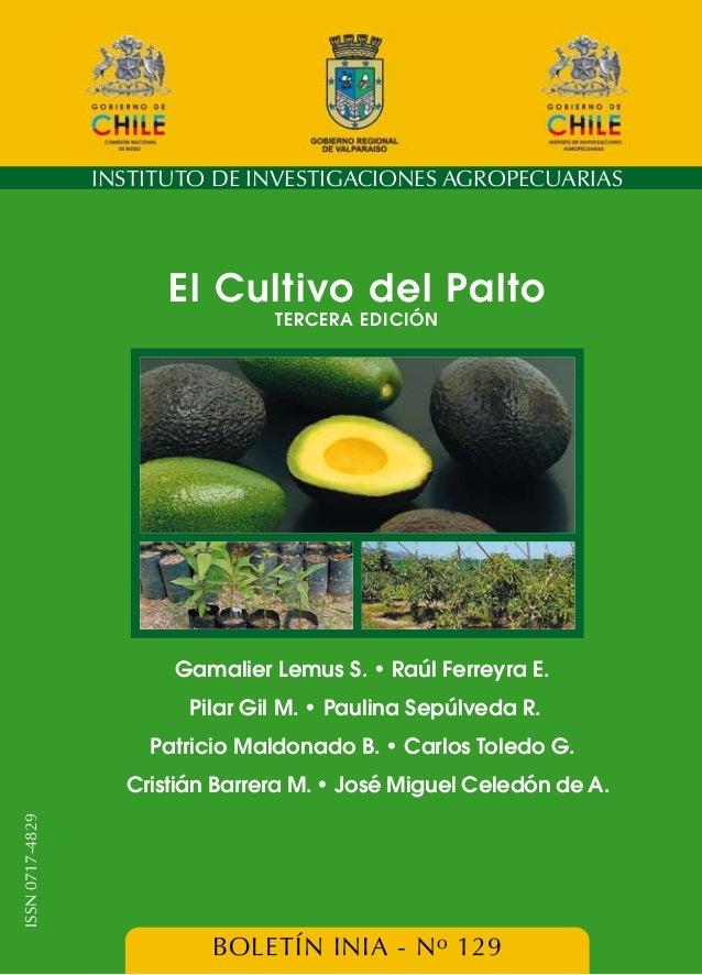 El cultivo del palto tercera edición