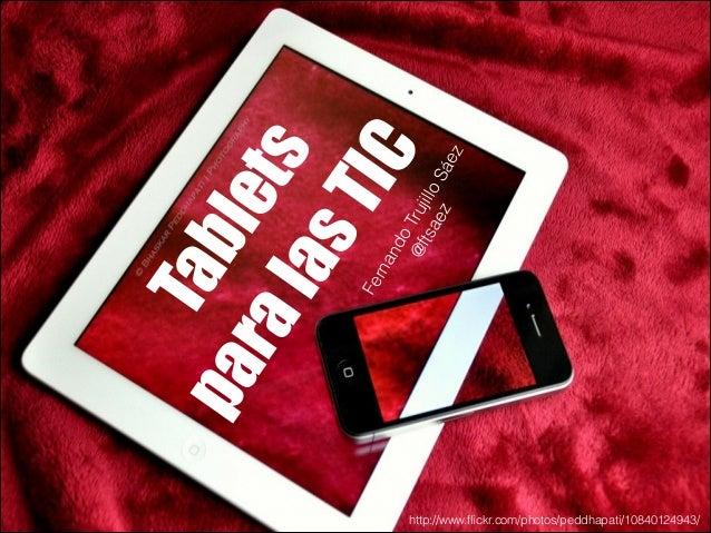 Tablets para las TIC