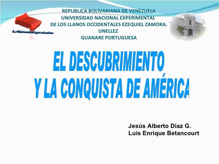 El Decubrimiento Y La Conquista De AméRica