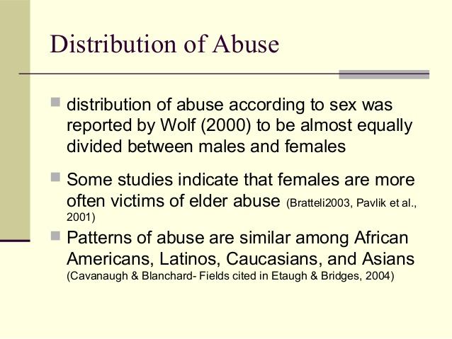 elder abuse five case studies