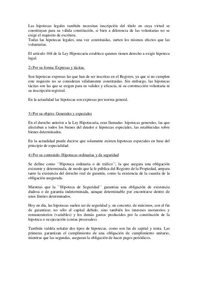 Derecho civil iii el derecho real de hipoteca for Contrato de hipoteca