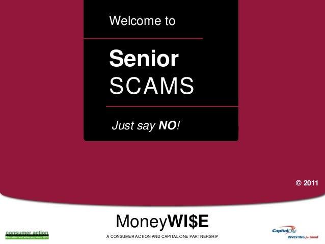 Elder Fraud - Preventing Senior Scams