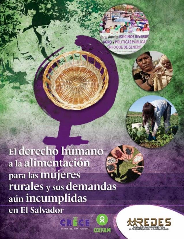El derecho humano a la alimentación para las mujeres rurales