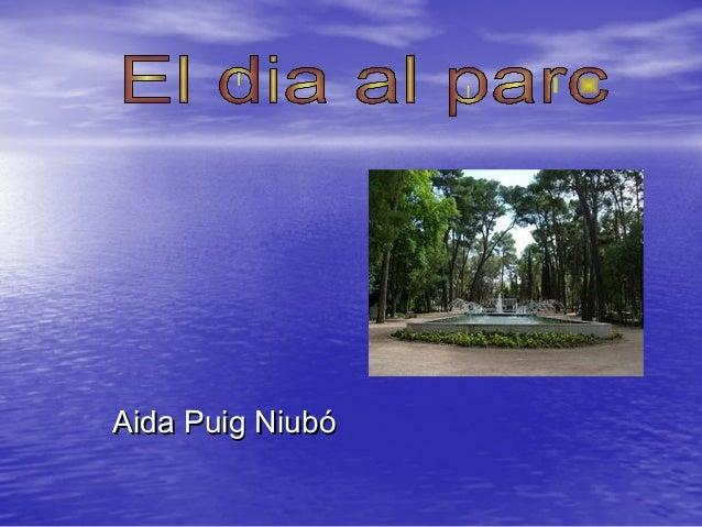 Aida Puig NiubóAida Puig Niubó