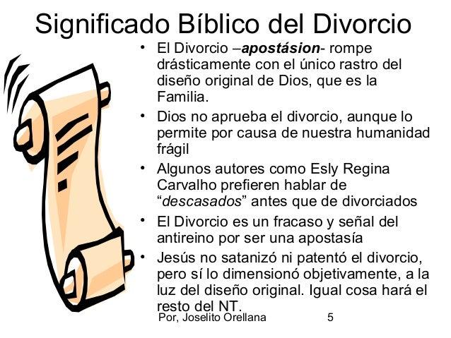 Matrimonio Y Separacion Biblia : El divorcio