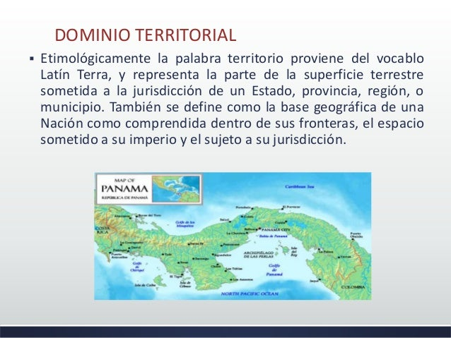 El dominio territorial de panam - Definition de superficie ...