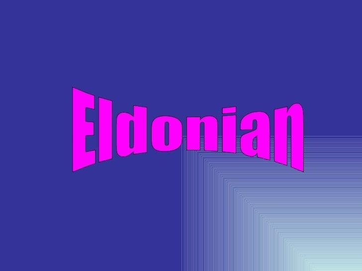 Eldonian