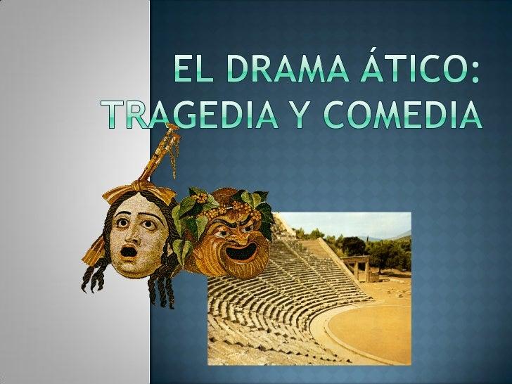    1 Introducción.     Definición. Orígenes. Subgéneros. Semejanzas entre tragedia y      comedia. Realia.     Organiza...