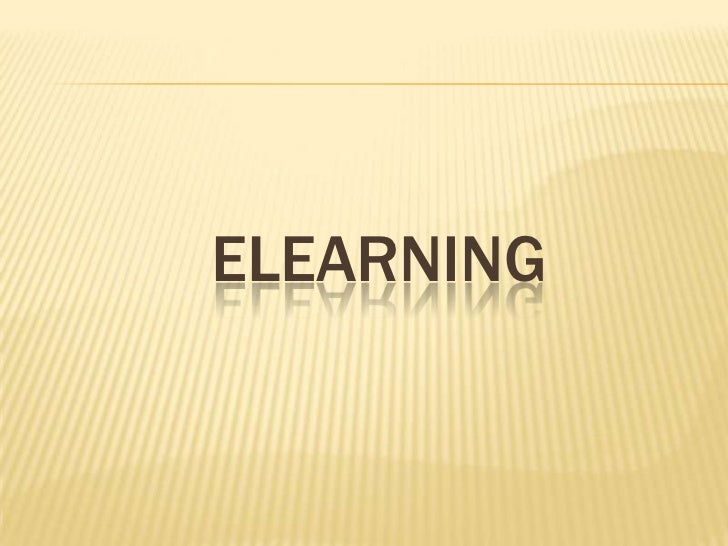 Elearning<br />