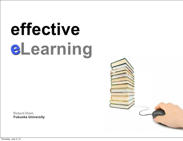 effective          Learning                                 Text            Robert Diem            Fukuoka UniversityThurs...