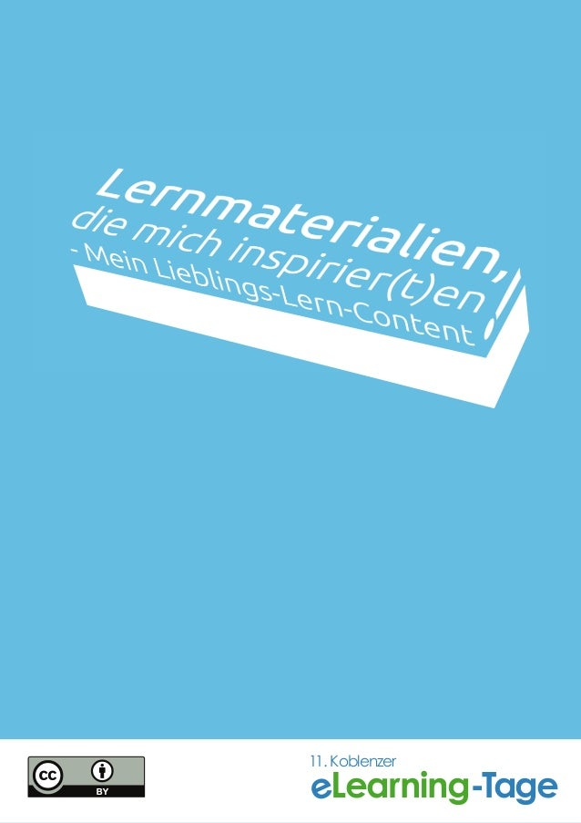 Lernmaterialien, die mich inspirier(t)en!