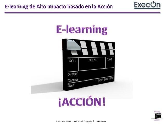 Elearning de Alto Impacto basado en la Acción