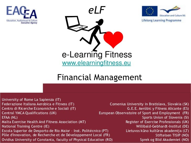 E learning fitness financial management uniroma1 giampaoletti