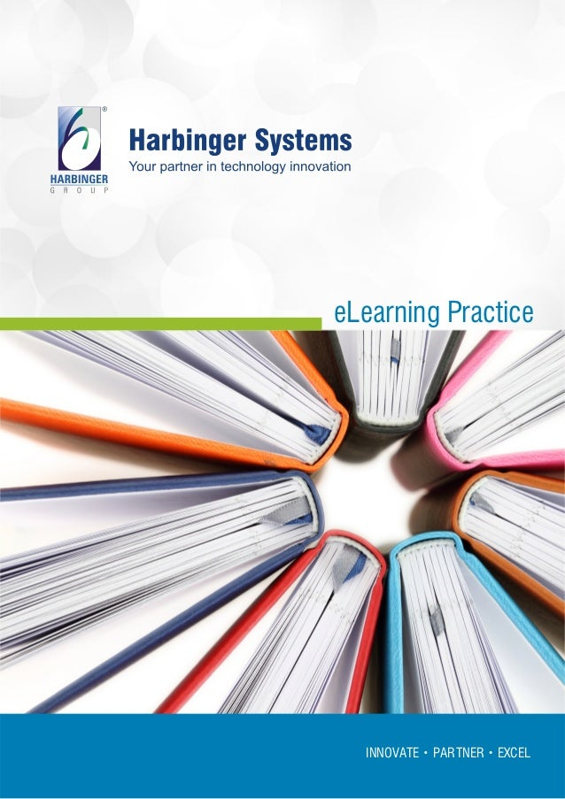 Harbinger E learning practice-brochure