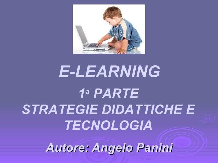 e-learning prima parte