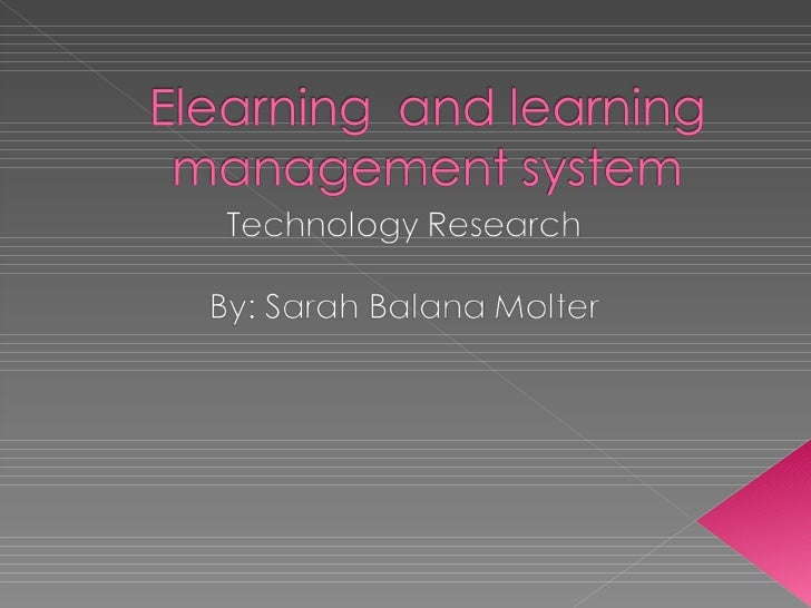 Elearning++And+Learning+Management+System[1]
