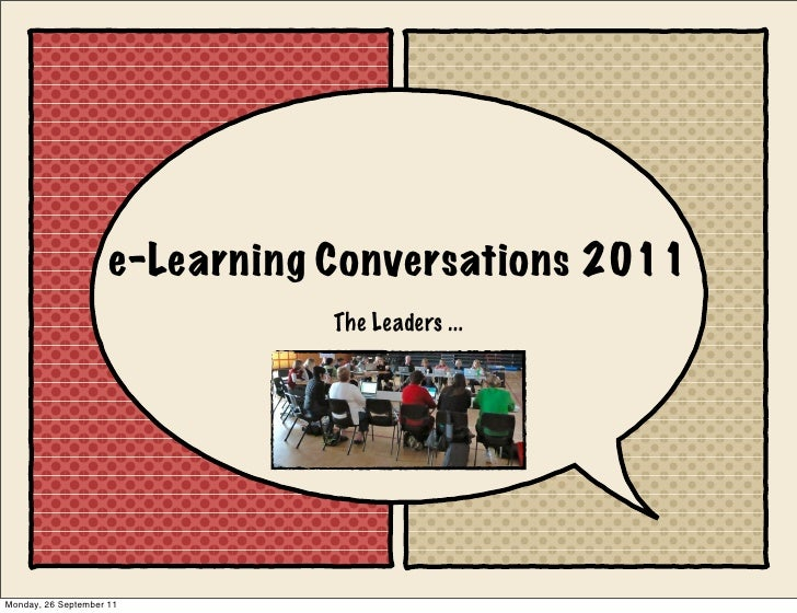 e-Learning conversations