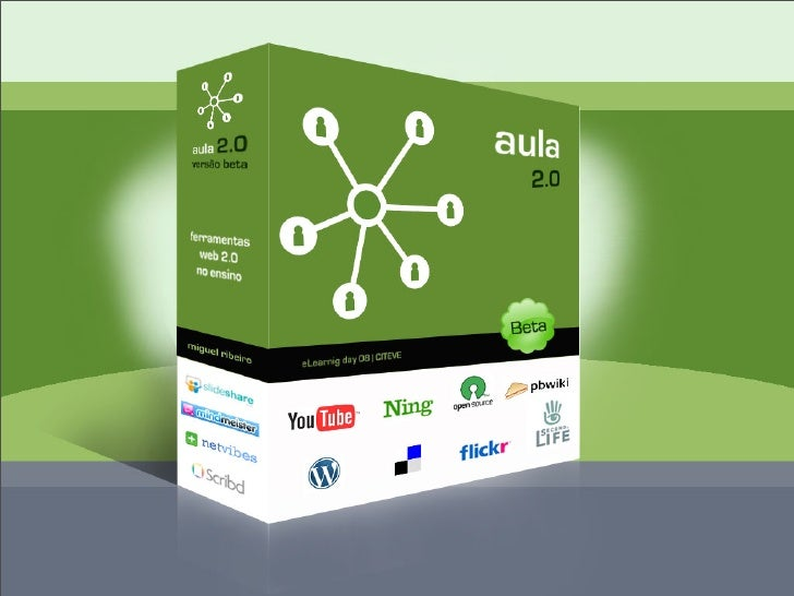 Aula 2.0, versão beta - Ferramentas web 2.0 no ensino