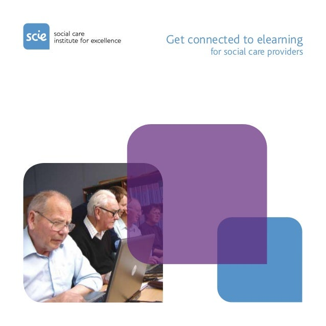 Get connected to elearning        for social care providers