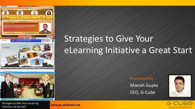 E learning Implementation strategy