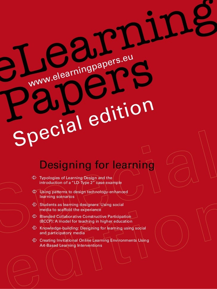 E learning papers   special edition 2011