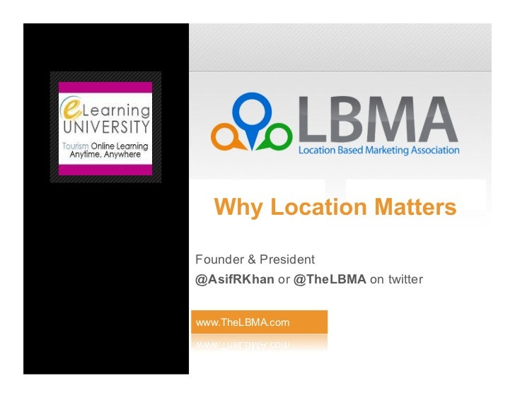 Founder & President@AsifRKhan or @TheLBMA on twitterwww.TheLBMA.com