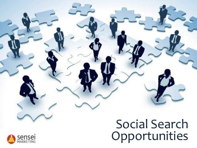 Social SearchOpportunities