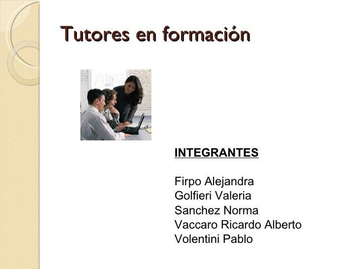E Learning Y El Tutor Online
