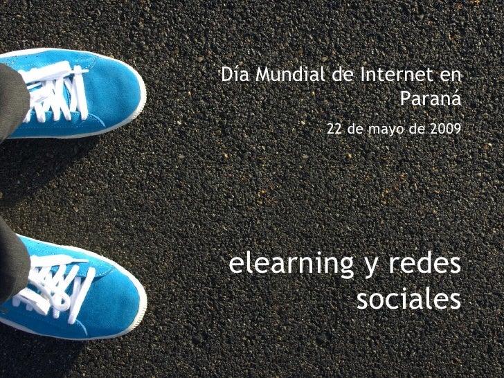 elearning y redes sociales
