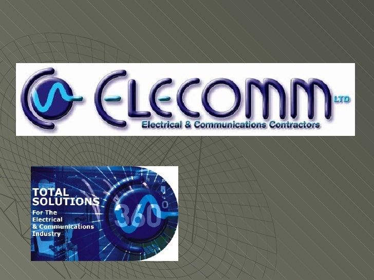 Elecomm Slide Show Presentation